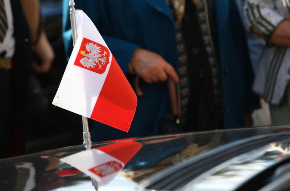 Lenkijos vėliava