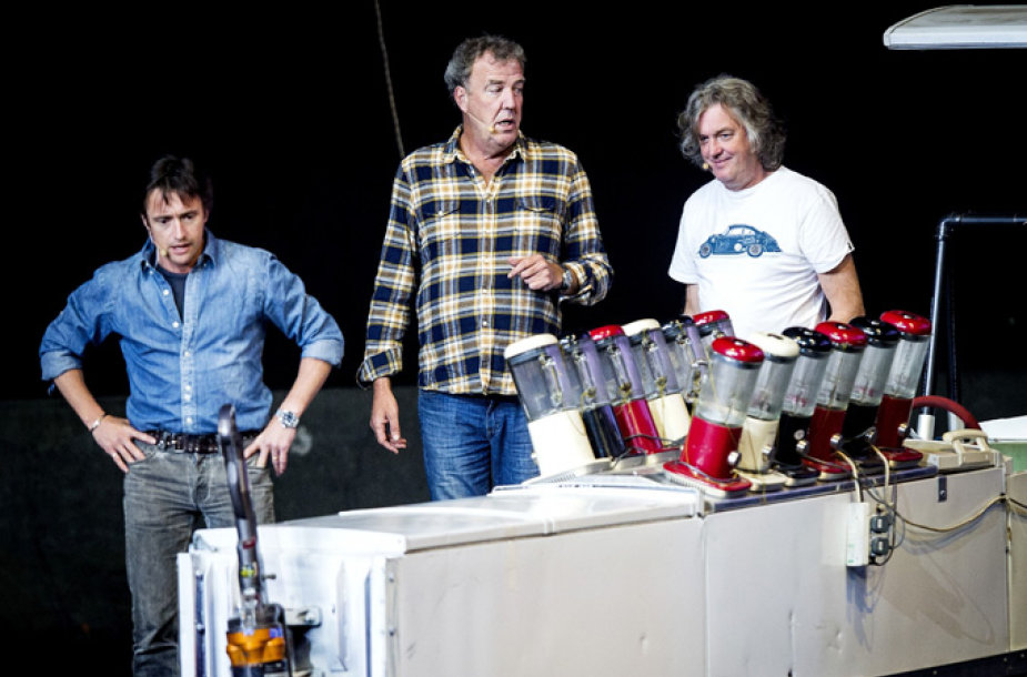 Richardas Hammondas, Jeremy Clarksonas ir Jamesas May