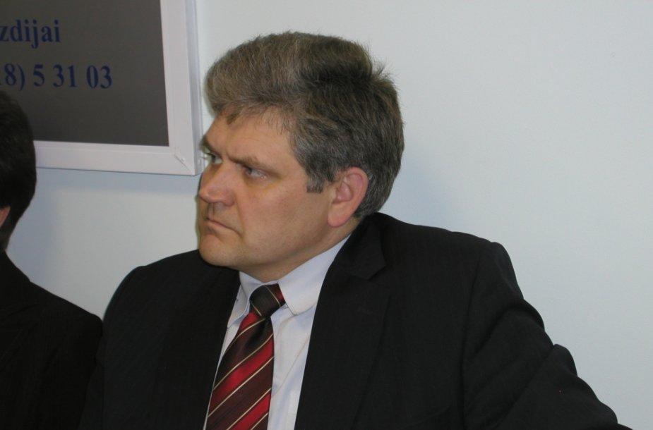 Liberalų sąjūdžio Lazdijų skyriaus pirmininkas Arūnas Markūnas