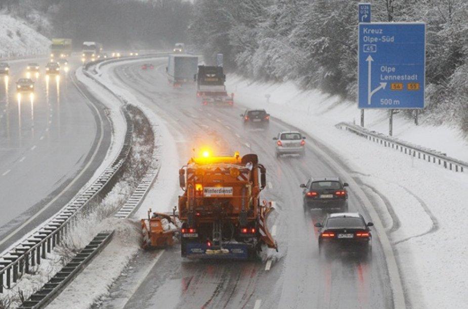 Valomas Vokietijis greitkelis