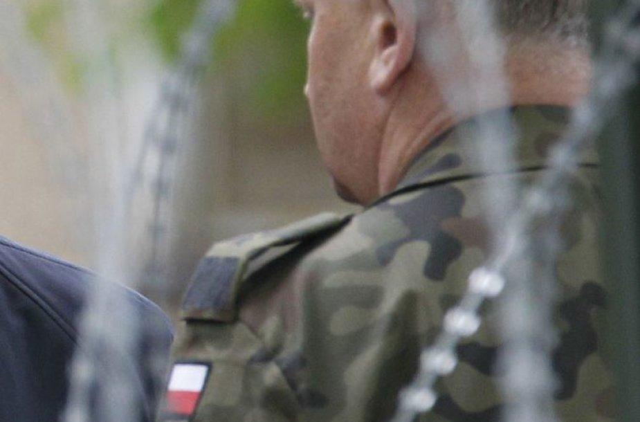 Lenkijos karininkas. Asociatyvinė nuotr.