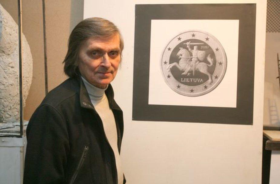 Skulptoriaus A.Žukausko teigimu, ateityje, Lietuvai prisijungus prie euro zonos, į apyvartą bus išleistos euro monetos, kurių aversas primins lito monetą.