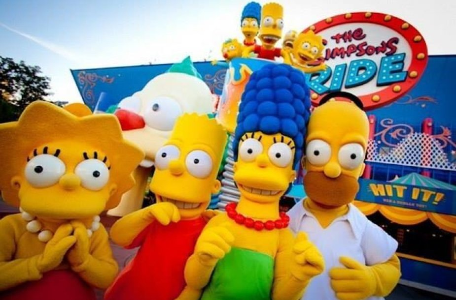 """Floridoje sukurtas realus Springfieldas iš """"Simpsonų"""""""