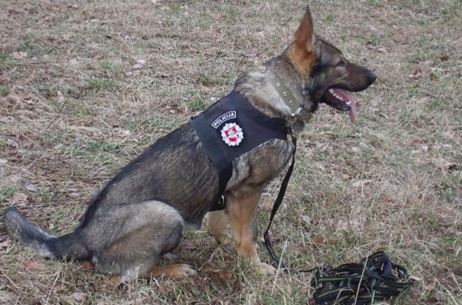 Policijos tarnybinis šuo Ūkas