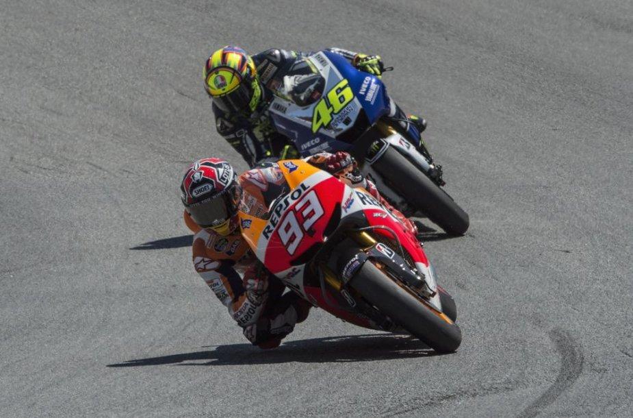 """""""MotoGP"""" lenktynės Laguna Secoje"""