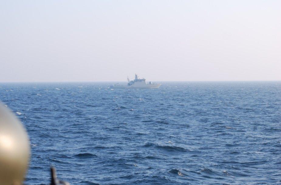 Kovinio rengimo mokymai Baltijos jūroje
