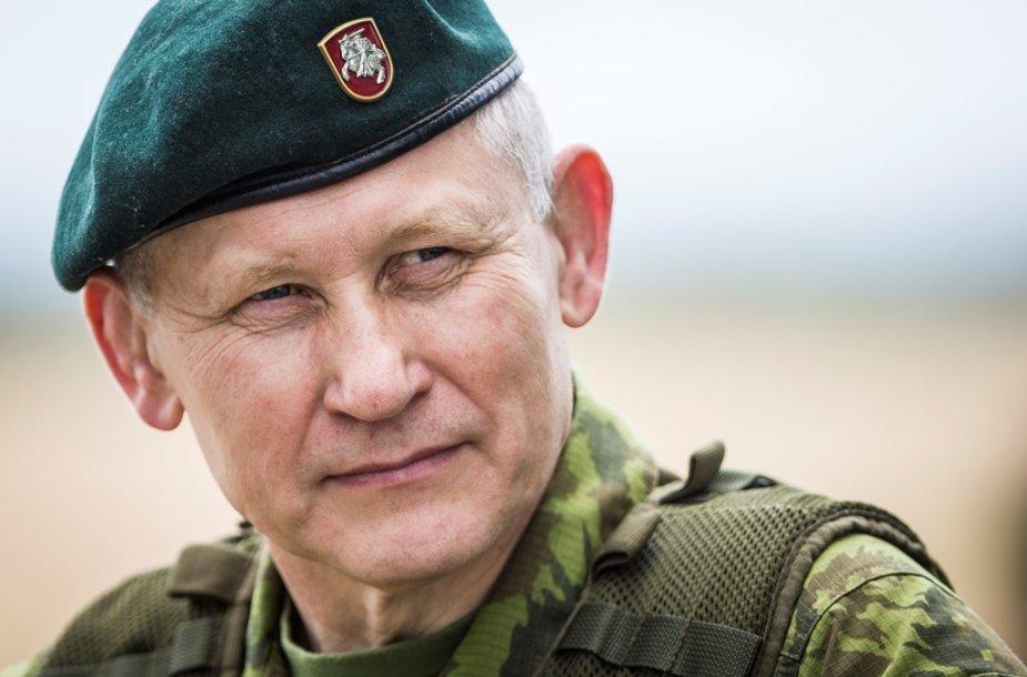 Lietuvos kariuomenės vadas Arvydas Pocius