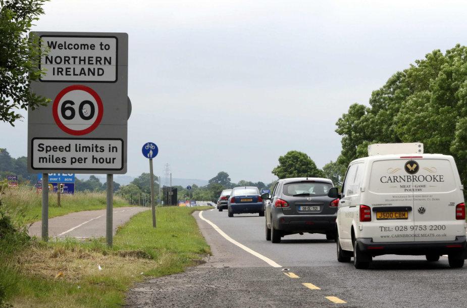 Siena tarp Airijos ir Šiaurės Airijos