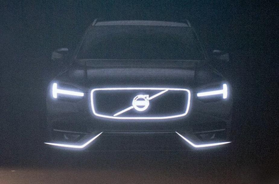 """""""Volvo XC90"""" fragmentai"""