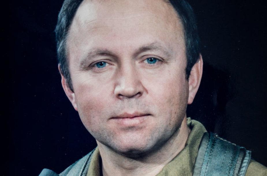 Lakūnas-bandytojas Rimantas Stankevičius