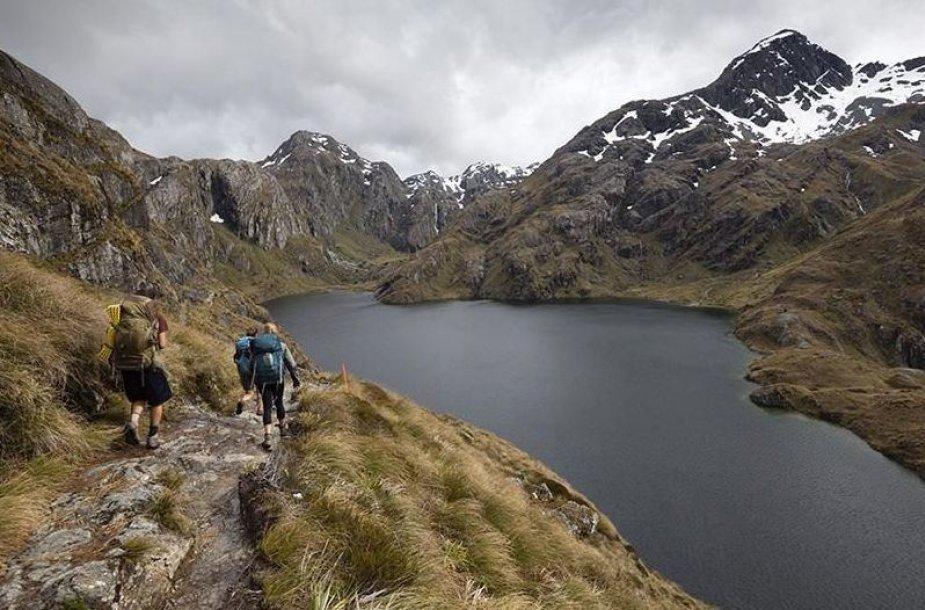 Kalnai Naujojoje Zelandijoje