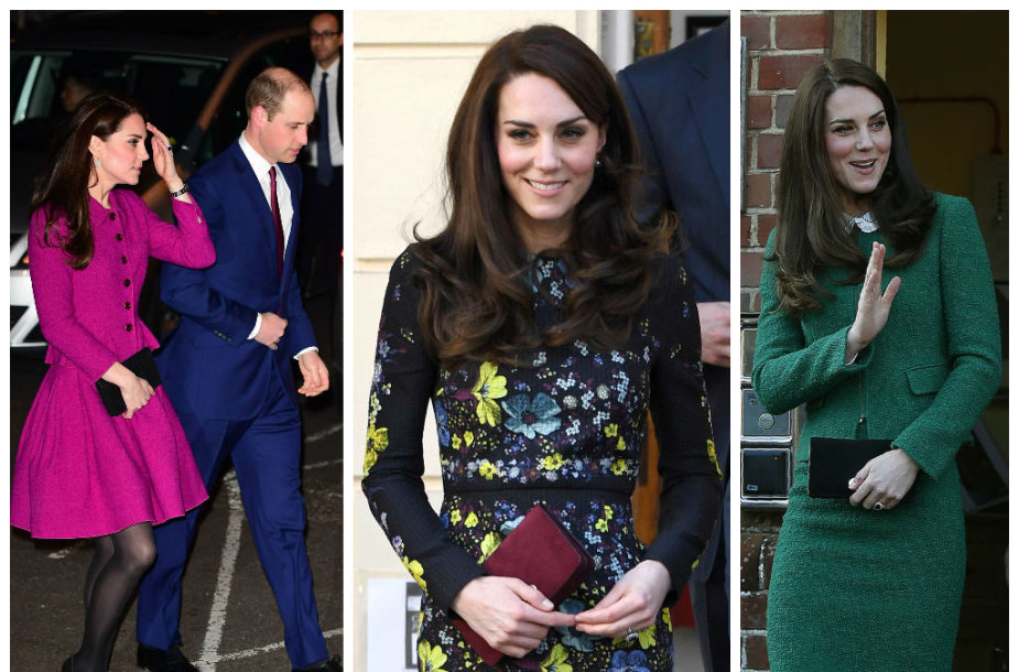 Kembridžo hercogienė Catherine naujiems drabužiams per tris mėnesius išleido 67,2 tūkst. eurų