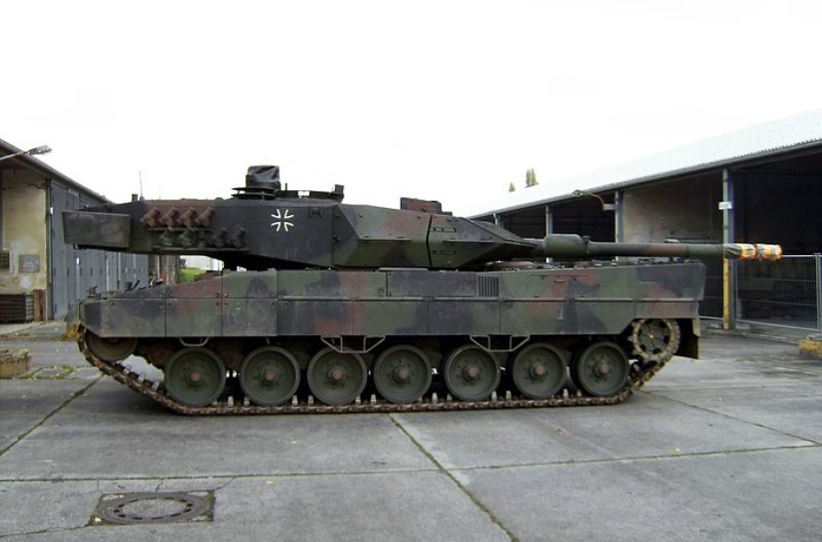 "Tankas ""Leopard 2"""