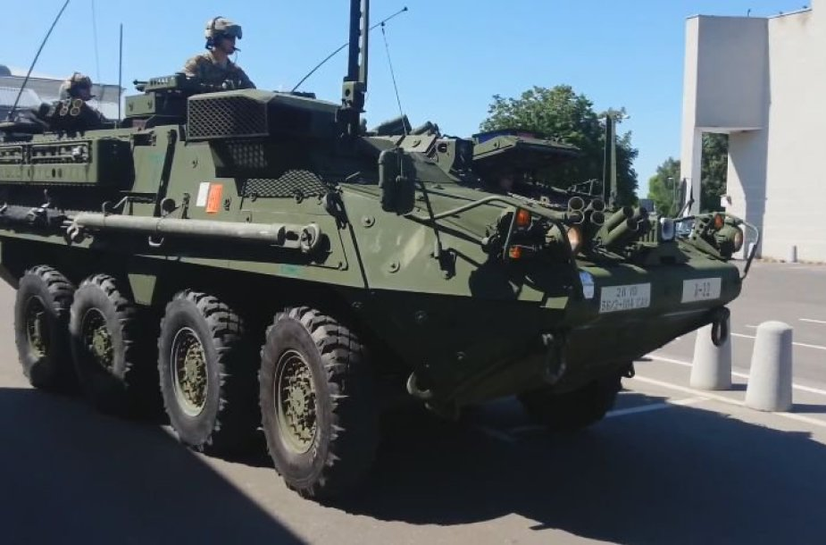 """JAV ratiniai šarvuočiai """"Stryker"""""""
