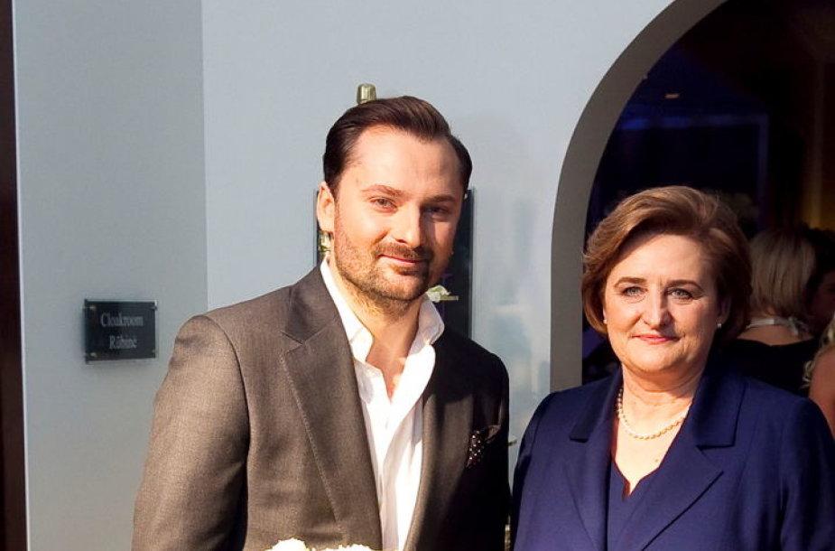 Mantas Petruškevičius ir Loreta Graužinienė