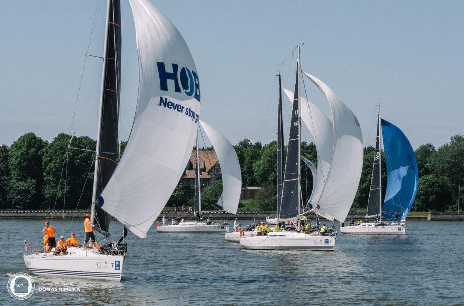 Europos jūrinio buriavimo (ORC) čempionatas Švedijoje