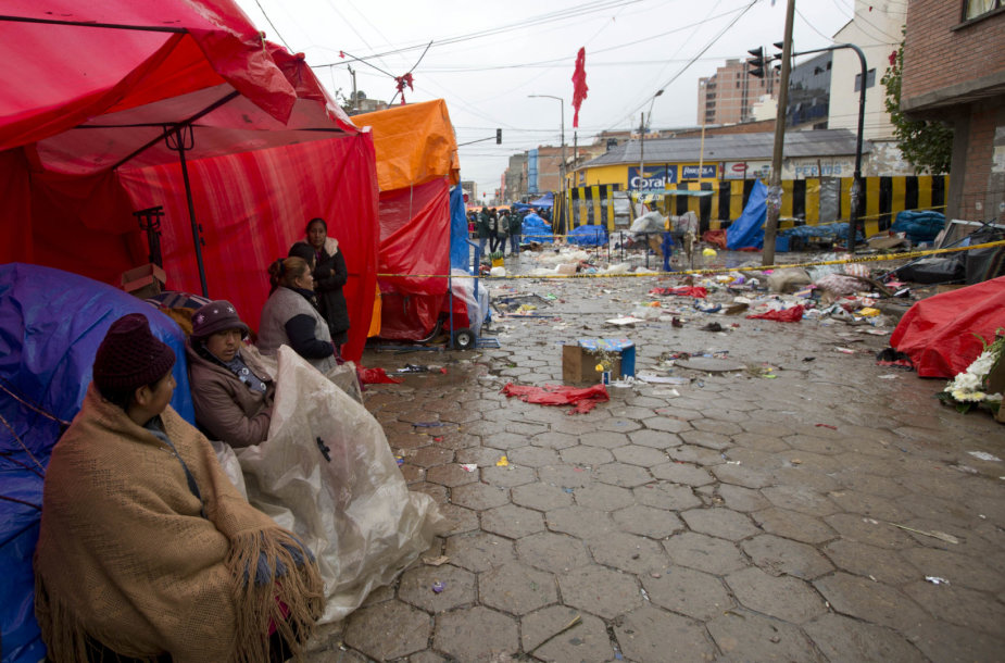 Bolivijoje per karnavalą nugriaudėjęs sprogimas pareikalavo dviejų gyvybių