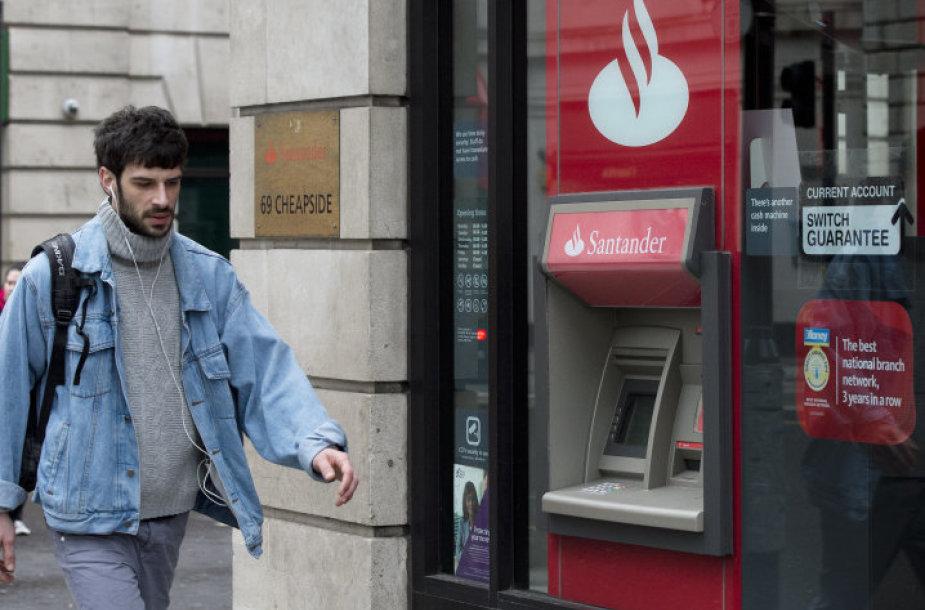 """""""Santander"""" banko padalinys Londone"""
