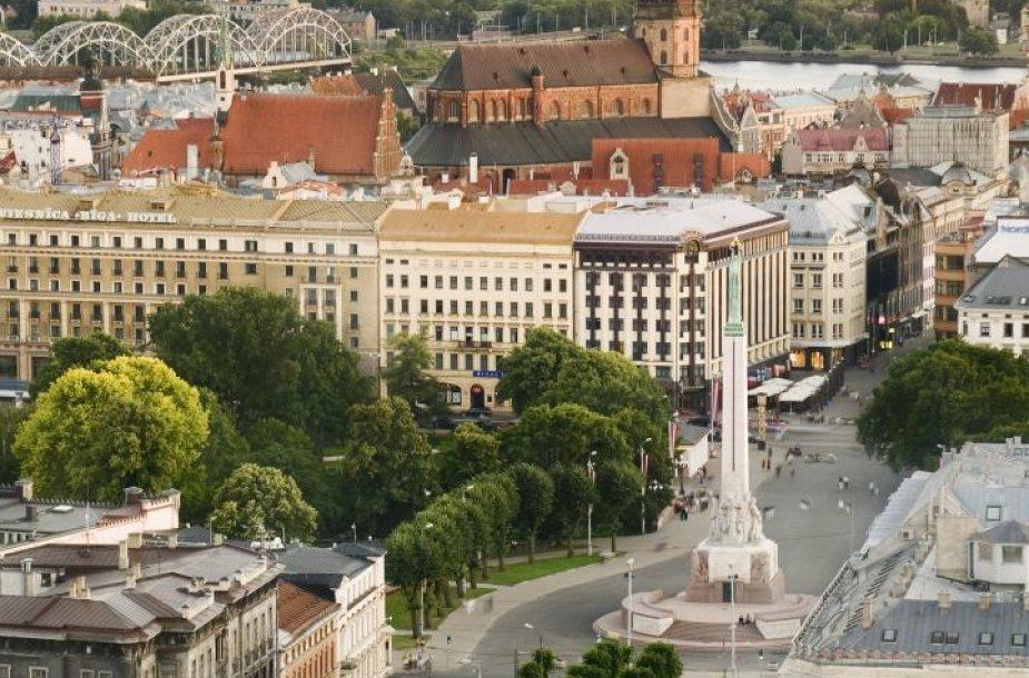 Latvijos sostinė – Ryga