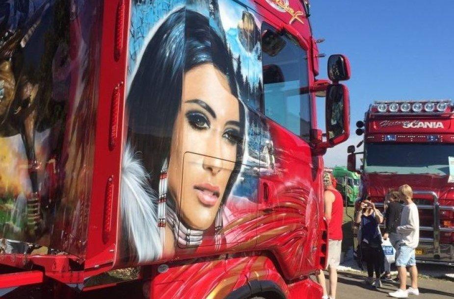 Sunkvežimių grožio konkursas