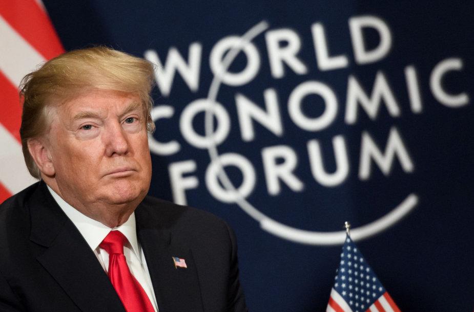 Donaldas Trumpas Davosas