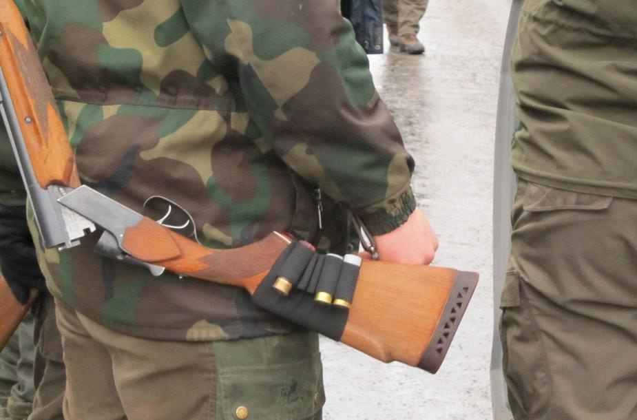 Medžioklėje naudotas ginklas