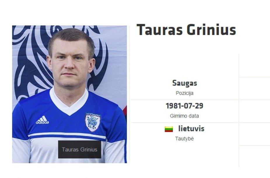 Tauras Grinius