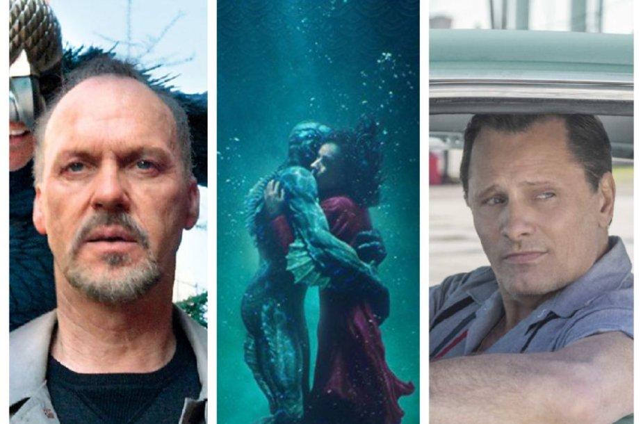 Filmai, pastaraisiais metais laimėję Oskarus