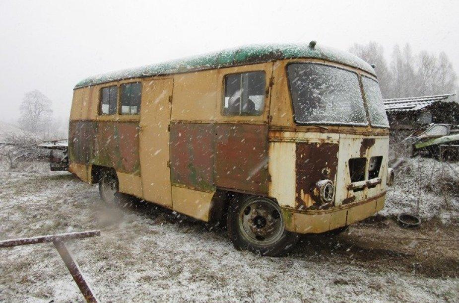 Surastas istorinis lietuviškas, Kaune gamintas autobusas – KAG
