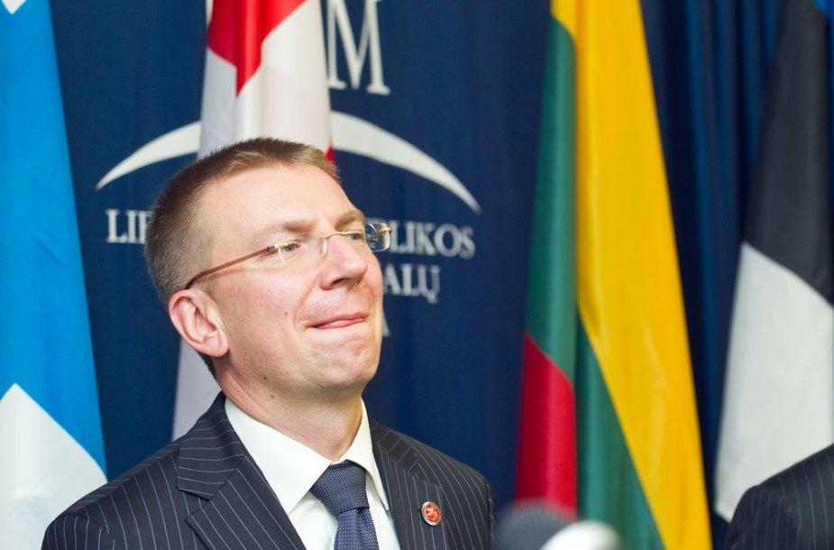 Edgaras Rinkevičius, Latvijos užsienio reikalų minsitras