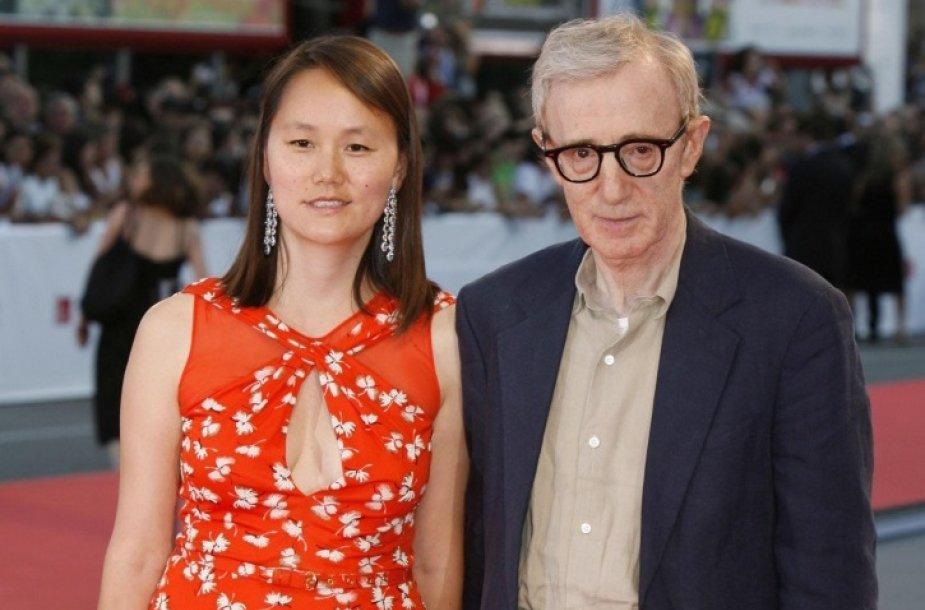 Woody Allenas su žmona Soon-Yi Previn