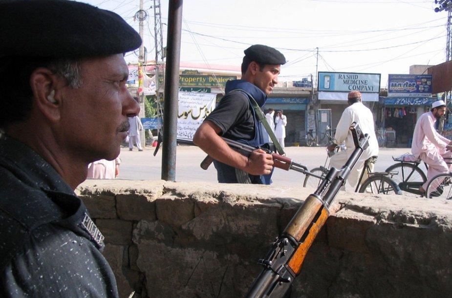Pakistano policija