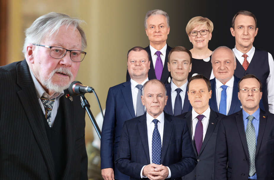 V.Landsbergio klausimas kandidatams prezidento rinkimuose
