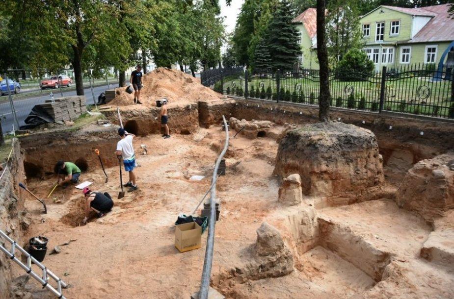 Archeologiniai kasinėjimai Panevėžyje