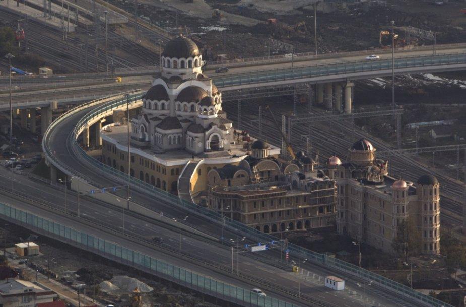 Nauja stačiatikių katedra Sočyje