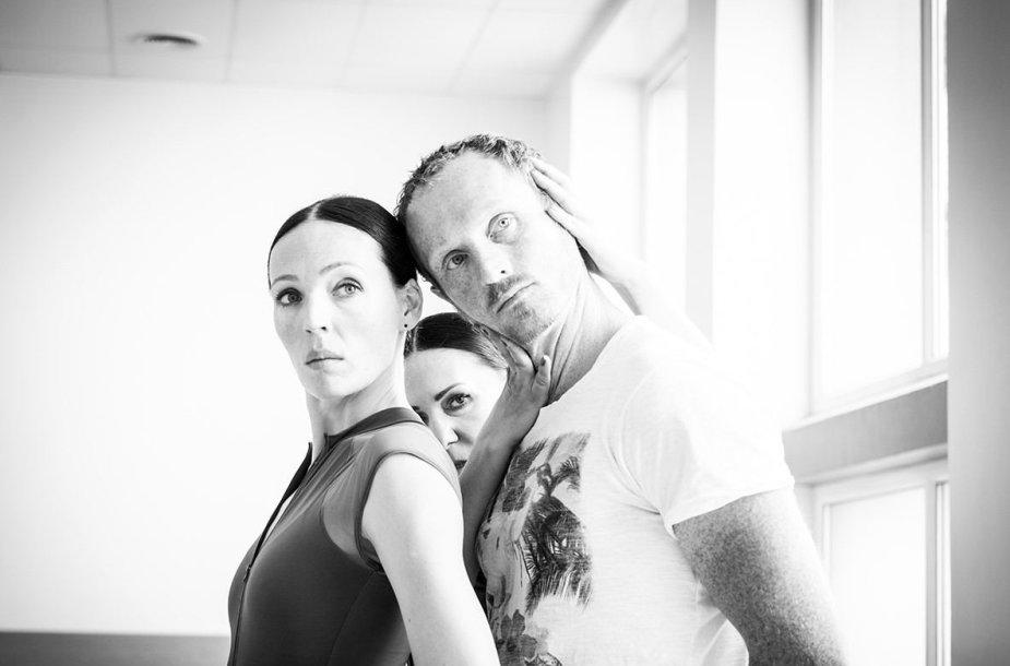 Andželikos Cholinos šokio teatro repeticija