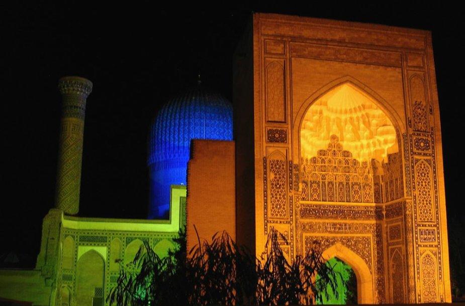 Uzbekijos Samarkandas – vienas seniausių pasaulio miestų.