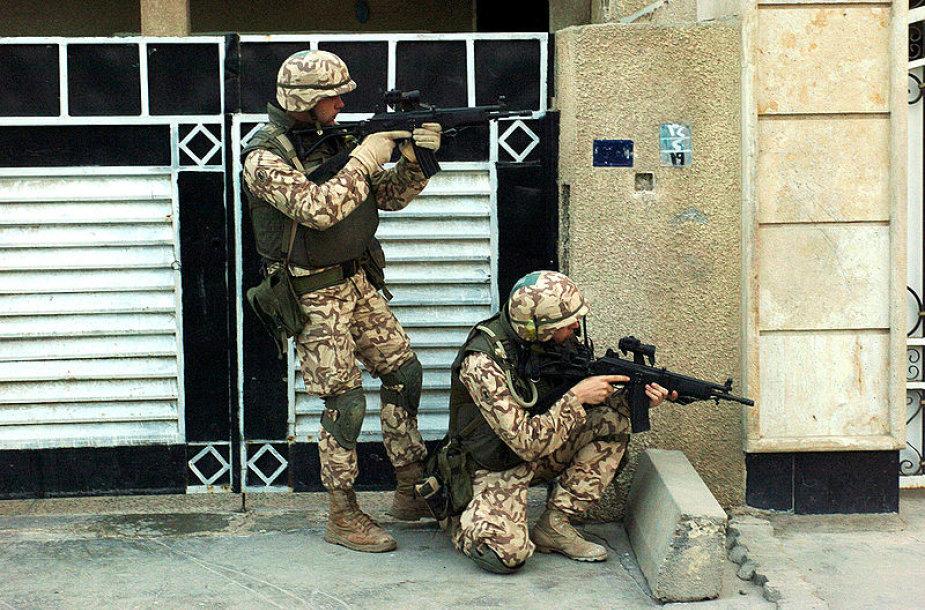 Estijos kariai misijoje