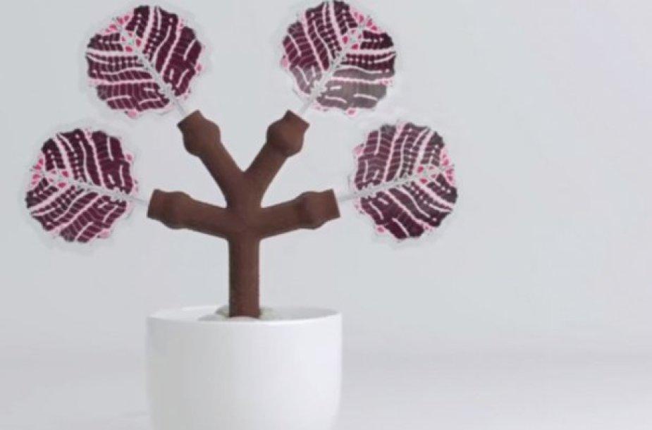 "Elektros energiją išgaunantis ""medis"""