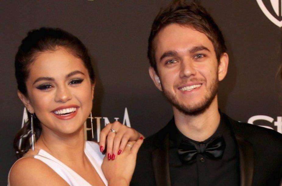 Selena Gomez ir Zeddas