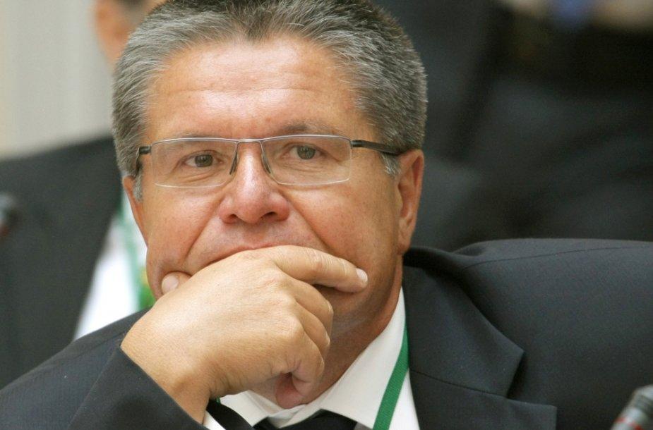 Rusijos ekonomikos ministras Aleksejus Uliukajevas