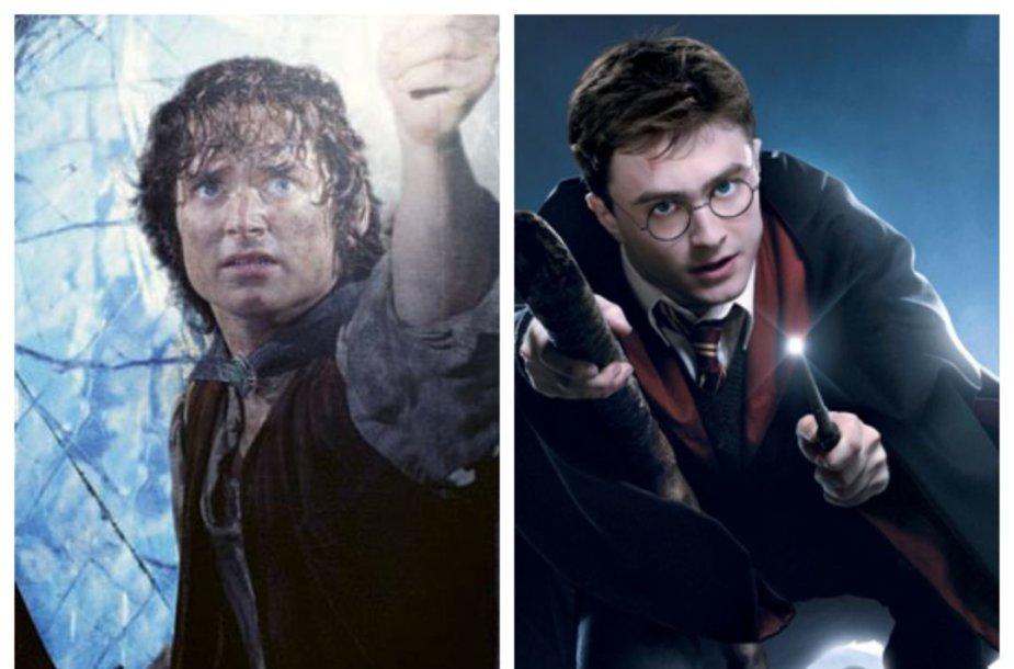 Frodas Beginsas ir Haris Poteris