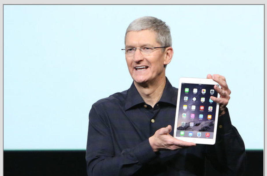 """""""Apple"""" pristatė naujus """"iPad"""" ir """"iMac"""""""