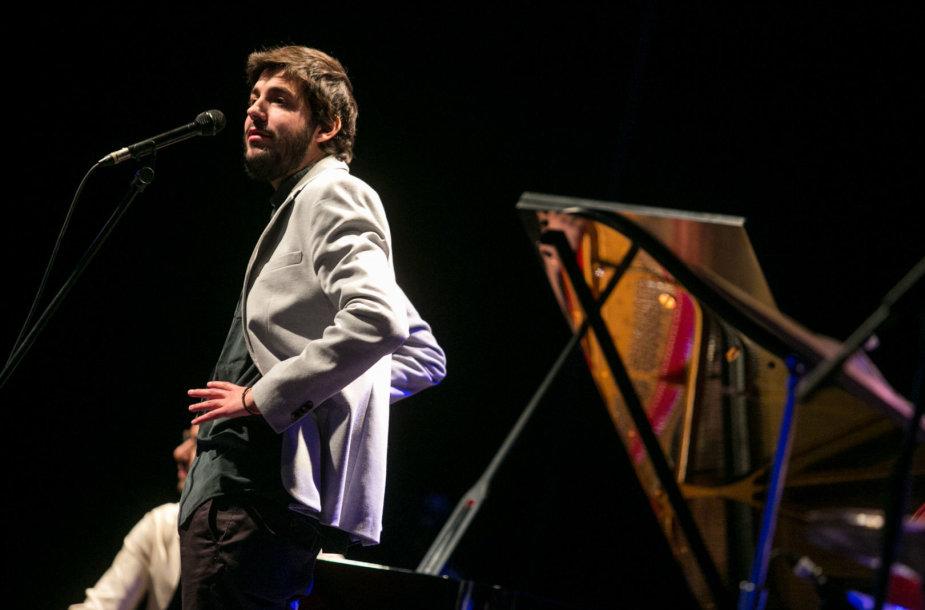 Salvadoro Sobralio koncerto Vilniuje akimirka
