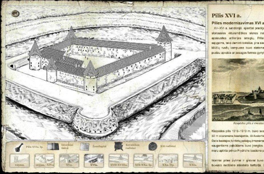 Pilies muziejuje bus pasakojama apie Klaipėdos Pilies istoriją.