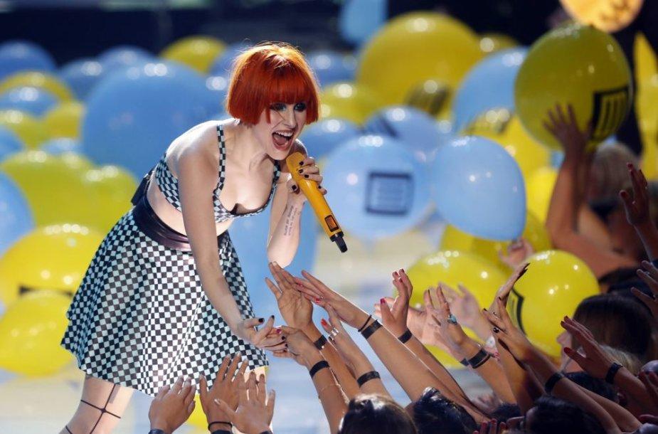"""Hayley Williams iš grupės """"Paramore"""""""