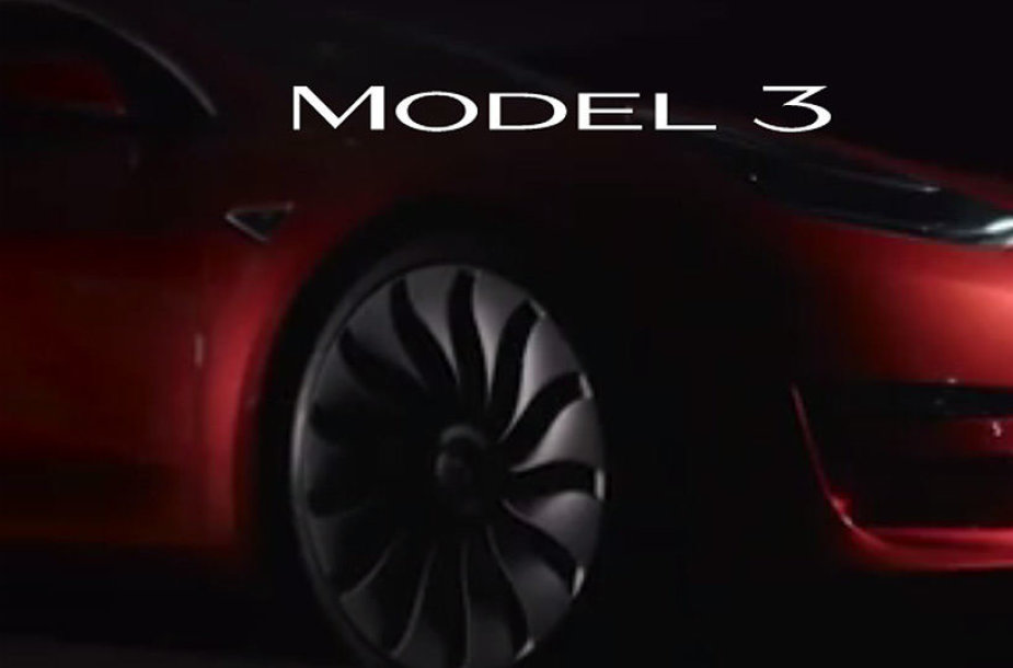 """Tesla Model 3"" logotipas"
