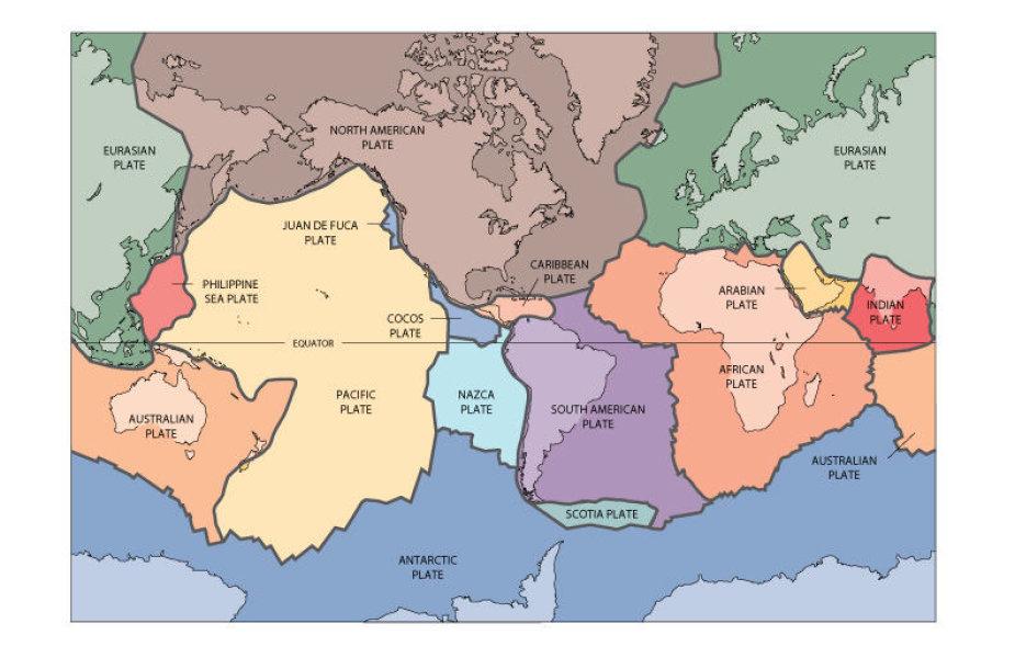 Tektoninės plokštės