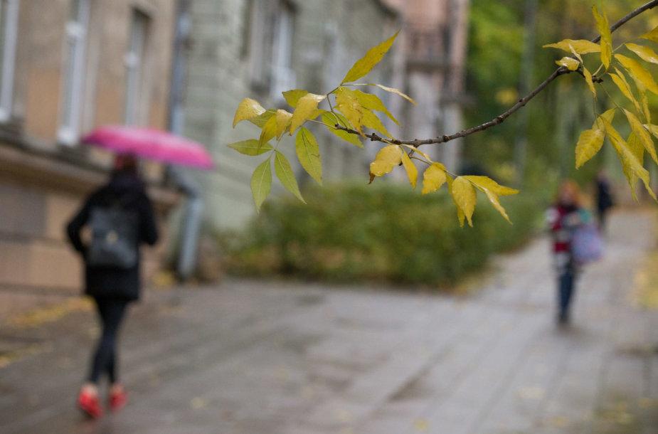 Permainingas Spalio oras Vilniuje