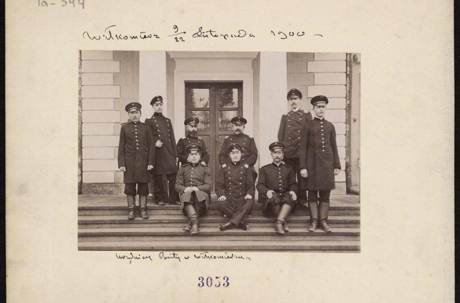 Ukmergės pašto darbuotojai